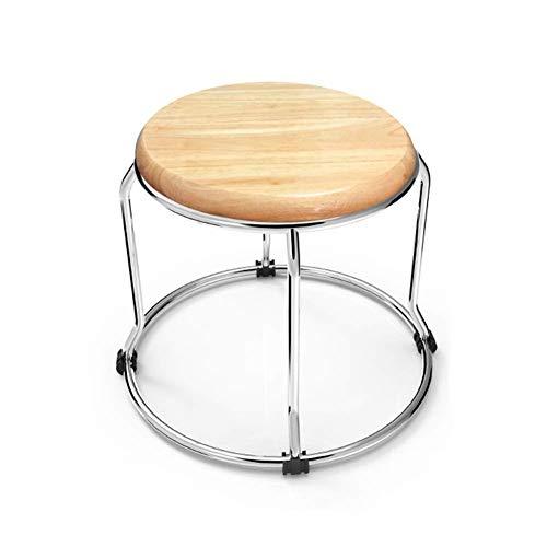Repose-pieds ottoman Tabouret Tabouret, tabouret de table à manger, tabouret en bois massif, petit tabouret pliant, chaise moderne minimaliste élégante Changement de banc à chaussures ( Size : 67cm )