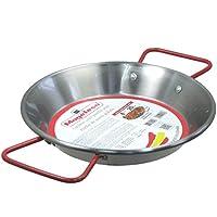 MageFesa Carbon Steel Paella or Tapas Pan, 8 Inch by Magefesa