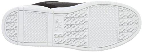 Supra - Ellington, Sneaker Basse Uomo Schwarz (noir - Blanc 002)