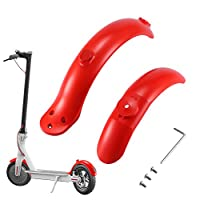 FORNORM Scooter Front Mud Fender, skate fenders,Rear Mud Fender Mud Guard Mudguard Fits For Xiaomi M365 Pro Electric Scooter