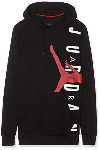 88b48bbb3a109 Nike Jordan Jumpman Air Lwt Sudadera, Hombre, Negro (Black/Gym Red), M