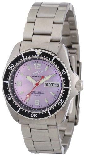 Chris Benz - CBM.R.MB.SW - Montre Mixte - Quartz Analogique - Bracelet Acier Inoxydable Argent