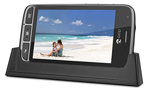 Doro Liberto 820 Mini – 3G Smartphone (4″ Touchscreen, 5 MP Kamera, GPS, Bluetooth 4.0, WiFi, Android 4.4) stahl/schwarz - 4