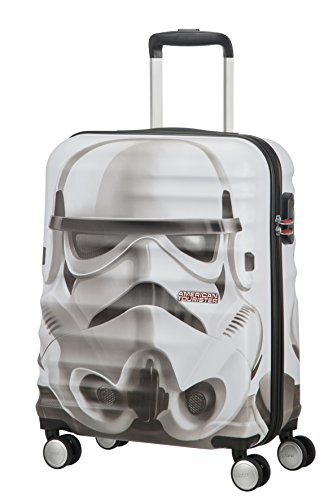American tourister – Disney Wavebreaker Star Wars Storm Trooper, Maleta Spinner 55/20, 55 cm, 36 L, 3.5 KG Multicolour (Star Storm Trooper)