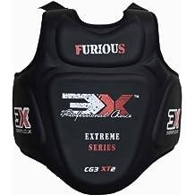 3x guardia deportes Pro Karate pecho Protector de cuerpo armadura MMA escudo Muay Thai Taekwondo Boxeo