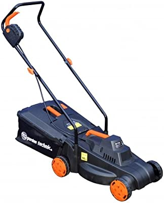 Elem Garden Technic LTDE1032-15 - Cortacésped eléctrico, 32cm, 1000W