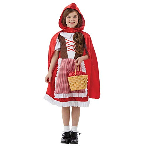 Kids Little Für Kostüm Riding Red Hood - Fun Shack FNK4313M Kostüm, Girls, Little Red Riding Hood, m