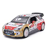 Modèle de Voiture 1:26 Citroen WRC Rally Alliage Jouet Simulation Modèle De Voiture