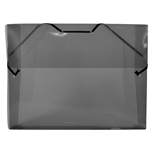 A4Box Datei 3cm Breite schwarz (Ashley-möbel-leder)