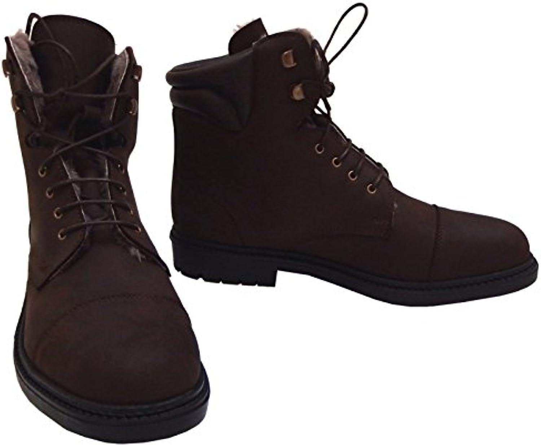 Boots vigoulet fourrée Nubuck barnizada 39 marrón