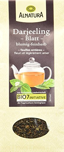 Alnatura Bio Darjeeling Tee lose (1 x 80 g)