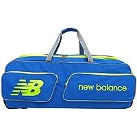 M & M MARS New Balance equipo equipo de Cricket Kit bolsa azul Sports–Bolsa de gran tamaño grande bolsa con ruedas resistentes, ideal para Club, Academia, Partidos