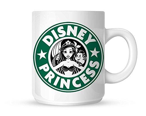 Ariel Starbuck (Disney Princess Blanc Mug 283,5 gram