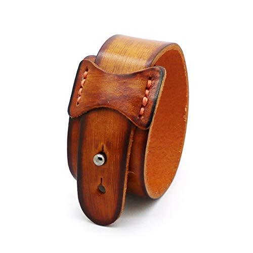 YIYIYYA Herren Armband Zubehör Manschette Breit Leder Armband Retro Mode Armband Männer Und Frauen Schmuck, 02.