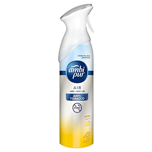 Ambi Pur Antitabaco Eliminador de Olores para Tejidos en Spray - 300ml