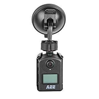 AEE Technology CM02 Suction Cup Joint Mount with Open Frame Camera Holder for AEE MD10 Action Camera (Black)