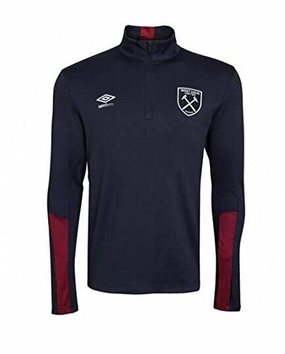 UMBRO West Ham - Camiseta niño Media Cremallera 2016-17