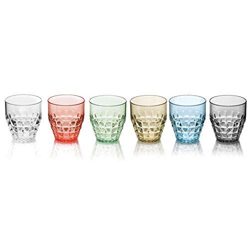 Niedrige Gläser, Modell Tiffany, 6 Stück