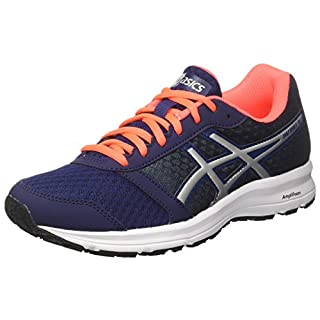 ASICS Women's Patriot 9 Training Shoes, (Indigo Blue/Silver/Flash Coral 4993), 38 EU (5 UK)