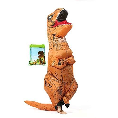 VAMEI aufblasbarer Dinosaurier Kostüm Abendkleid Herauf T Rex -