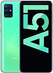 Samsung Galaxy A51 (16.4cm (6.5 inch) 128 GB intern geheugen, 4 GB RAM, Dual SIM, Android, prism crush blue) D