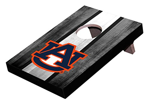 Wild Sports NCAA College Mini-Cornhole-Spiel, 25,4 x 17 x 3,4 cm, Table Top Toss Auburn Tigers, Team Color, 10
