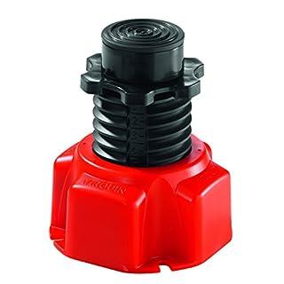 Wirquin 30719799Set 4Füße Duschtasse rot