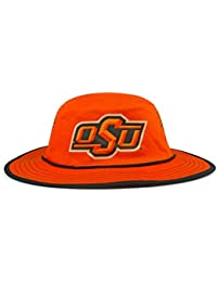 size 40 2ce50 e4c10 Cowbucker Collegiate Boonie Hat   Officially NCAA Licensed (One Size  Oklahoma State Cowboys Orange and