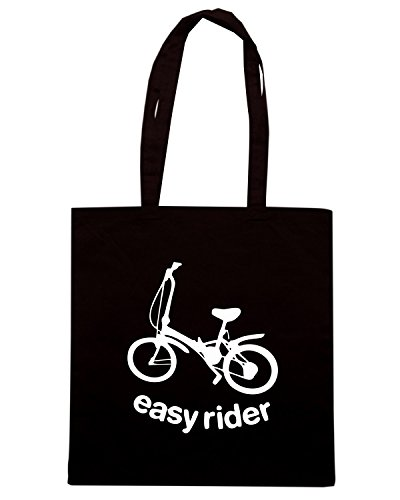 T-Shirtshock - Borsa Shopping SP0061 Easy Rider Maglietta Nero