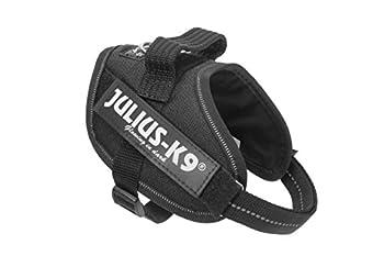 Harnais Julius-K9, Taille Mini, Noir