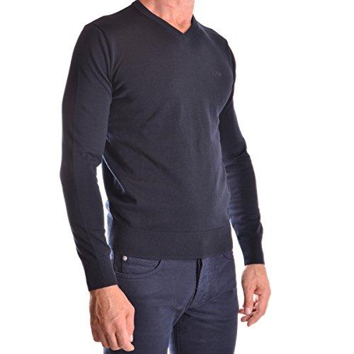 Armani Jeans Herren Pullover 06W28 VK 35 Blau