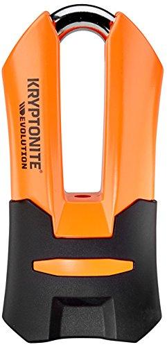 Kryptonite disc locks, blocco disco evolution unisex, orange