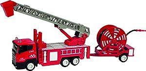 CLAUDIO REIG Camión de Bomberos con Remolque Manguera 45 x 14 x 9 cm 9716