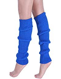 VJGOAL Moda casual para mujer Punto trenzado Mantener caliente Calentadores de la pierna Calcetines Cubierta de