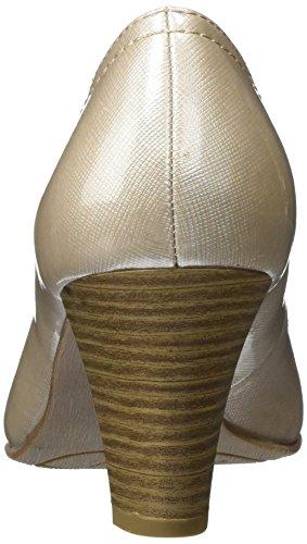 Jana 22405, Escarpins Femme Beige (Dune Pat Struc 497)