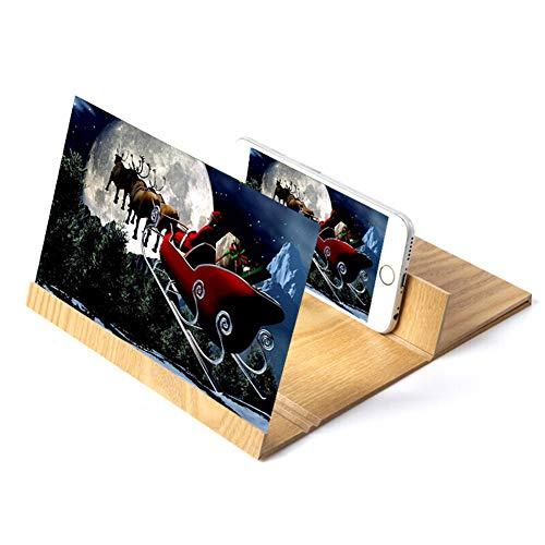 GH&YY Display Vergrößerungsglas für Smartphone, Verstärker Projektion Bildschirm Bildschirm...