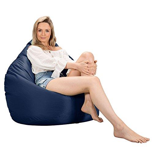 Big Bertha Original, Gaming Sitzsack Sessel, Marineblau | Wohnzimmer > Sessel > Sitzsaecke | Big Bertha Original