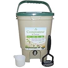 Ecovi kit0 C00001 Kit compostador de Cocina 20L + – Activador 1 kg, ...