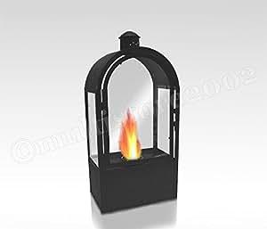bioalkohol brenner bio ethanol laterne gartenlaterne windlicht h he 56cm gartenbeleuchtung. Black Bedroom Furniture Sets. Home Design Ideas