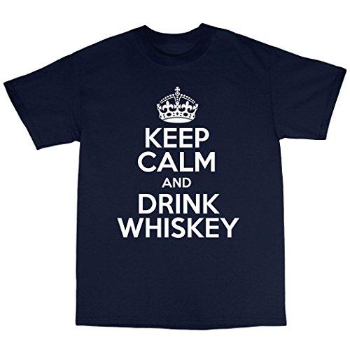 Drink Whiskey Single Malt Scotch T-Shirt 100% Premium Cotton