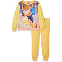 Beauty And The Beast Girls Beauty & the Beast Pj, Conjuntos de Pijama para Niñas (Pack de 2)