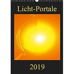 Licht-Portale (Wandkalender 2019 DIN A3 hoch): Farbenprächtige und motivationsfördernde Energie-Kunst-Bilder (Monatskalender, 14 Seiten ) (CALVENDO Gesundheit)