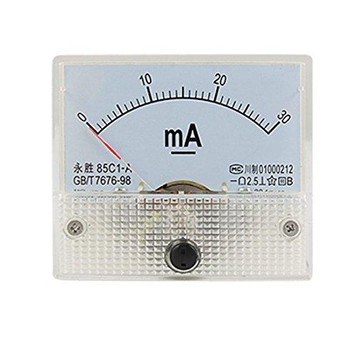 DC 0-30mA Analog Current Panel Meter Amperemeter 85C1-A