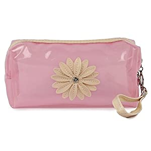 UberLyfe Transparent Cosmetics Pouch or Purse for Women – Baby Pink Best Online Shopping Store