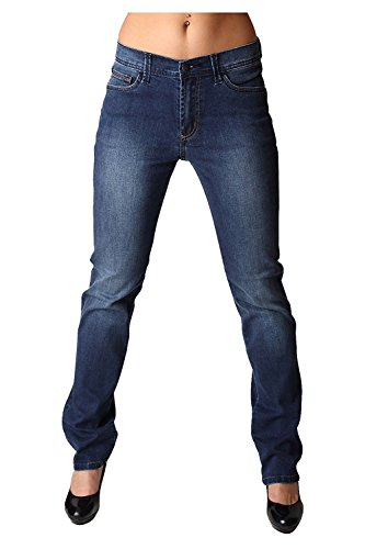 Pioneer 3220-6120-65 Kate, Damen Stretch Jeans, Blue Stone Used 42/L32 Kate Bootcut Jeans