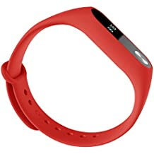Yomerome Xiaomi Relojes Correa, Reemplazo TPU Reloj Banda Smart Watch Band Correa Pulsera Para Xiaomi Mi Banda 2