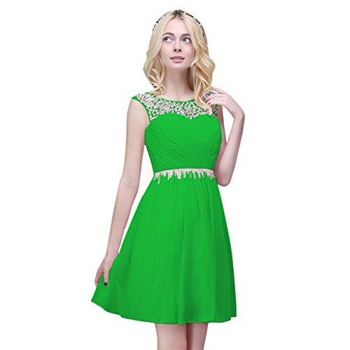 Vimans - Robe - Trapèze - Femme Vert brillant