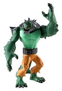 Batman - Figuras de acción, Pack Heroe Villano, Killer Croc, Color Verde (Mattel X2304)