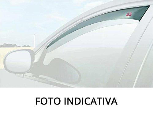Deflettori aria e pioggia antiturbo aerodinamico alta resistenza agli impatti Nissan Pulsar 5 porte 2014-> / Nissan Pulsar (Tetto in Vetro) 5 porte 2014->