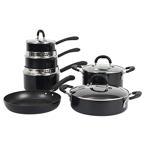 ProCook Gourmet Induction Non-Stick Strain & Pour Cookware Set 6 Piece